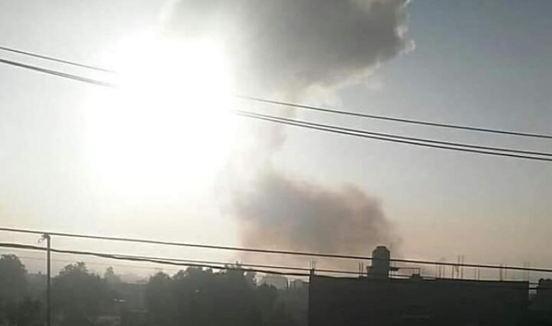 Deja dos muertos explosión de pirotecnia en Tultepec