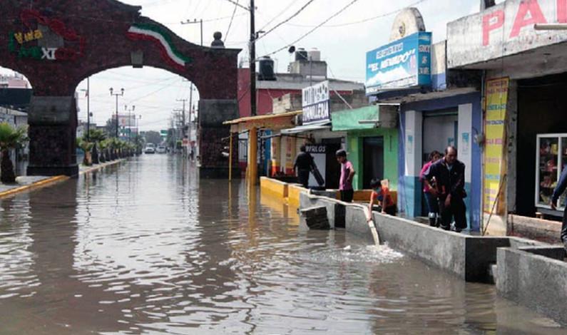 Redujo San Mateo Atenco inundaciones evitando tirar basura en calles