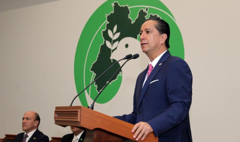 Donde hay orden, respeto y disciplina hay seguridad: Jorge Olvera