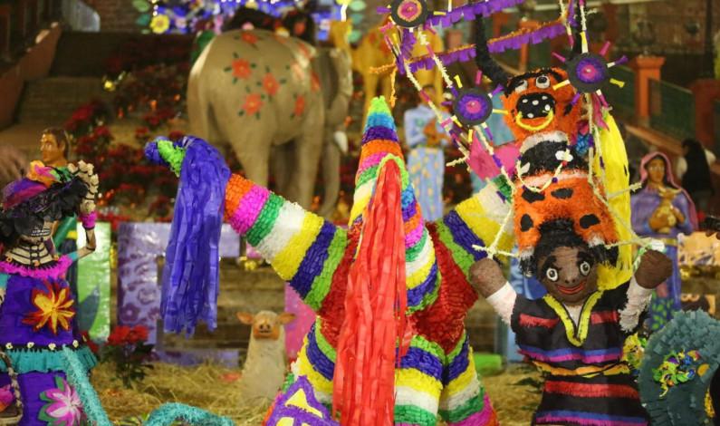 Arranca en Metepec el Festival Navideño