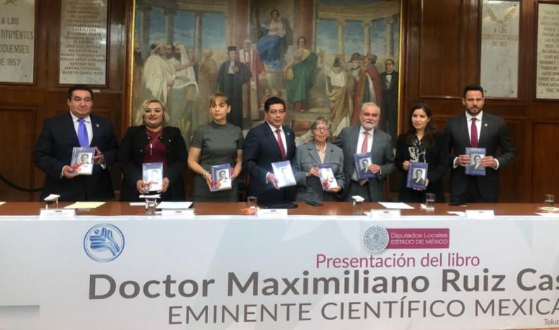 Honra Miguel Sámano legado de Maximiliano Ruiz Castañeda