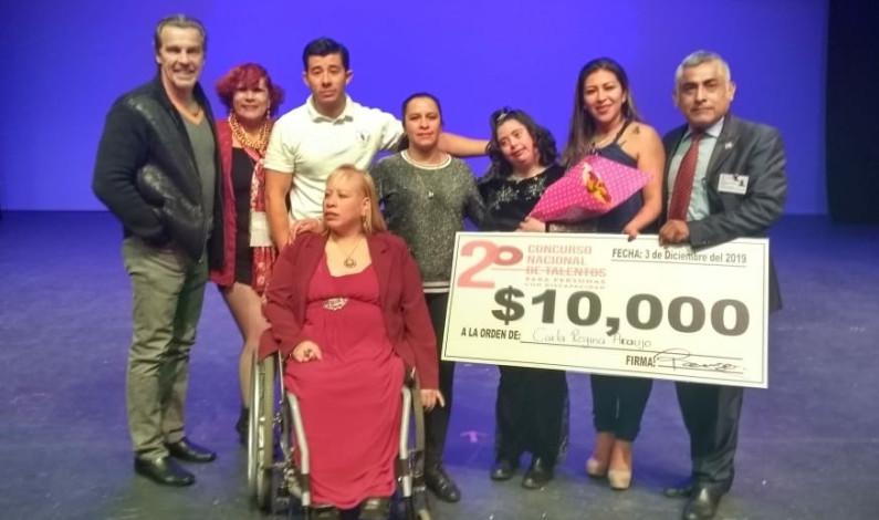 Premian talento de personas con discapacidad