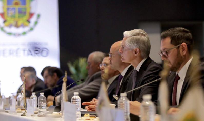 Suman esfuerzos gobernadores en la construcción de la paz