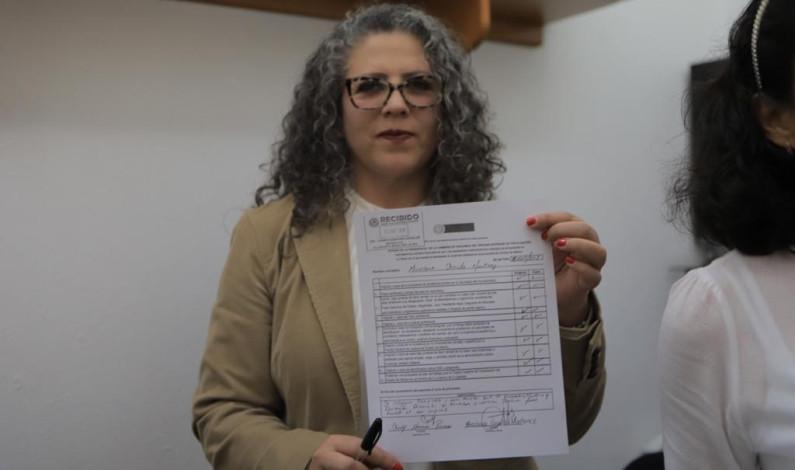 Registra Miroslava Carrillo su aspiración a dirigir el OSFEM