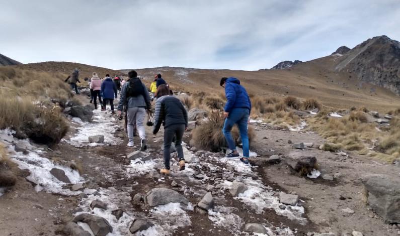 Venden por internet viajes «mortales» al Nevado de Toluca