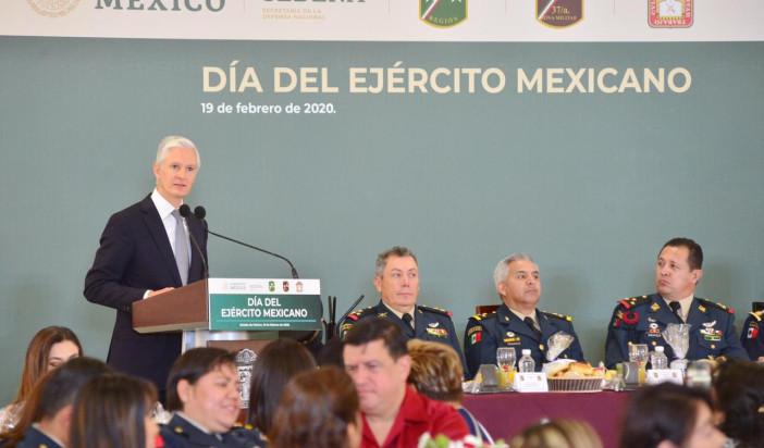 Ganó Ejército Mexicano reconocimiento, respaldo y prestigio del pueblo de México
