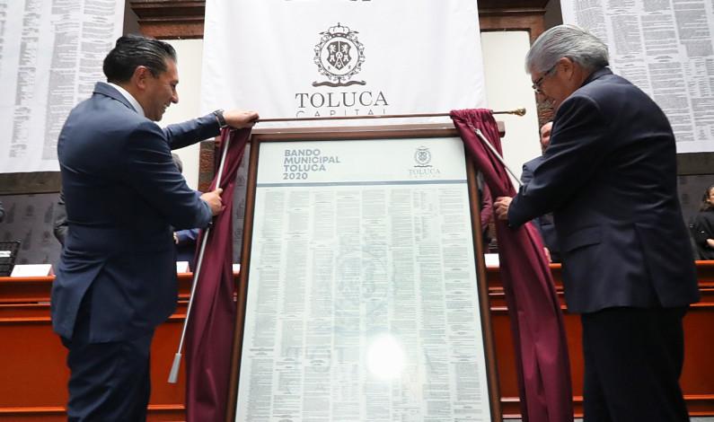 Garantiza Toluca legalidad y orden