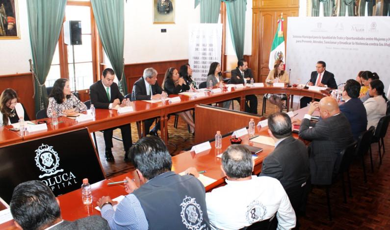 Lucha Toluca por erradicar violencia contra mujeres