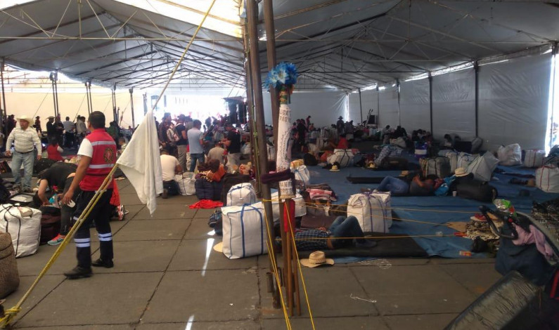 Protege Toluca partida de 20 mil peregrinos