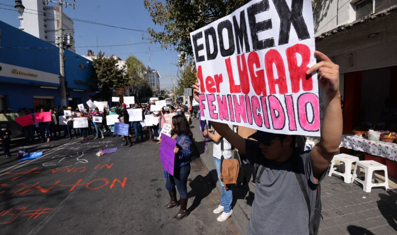 Suman 415 feminicidios en Edomex