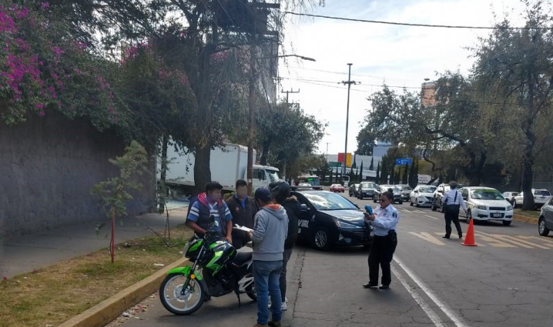 Abaten delitos mediante control de motocicletas