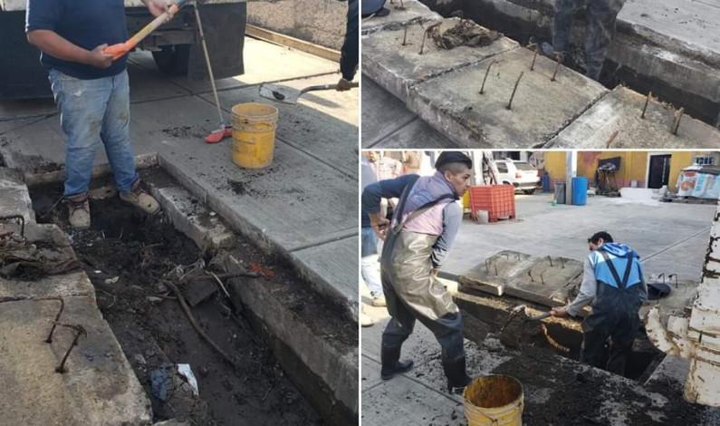 Inicia Huixquilucan programa de desazolve para evitar inundaciones