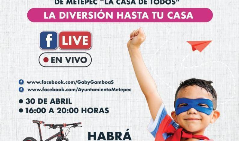 Ofrecerá Metepec Festival Virtual del Día del Niño