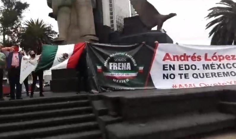 Se suman mexiquenses contra López Obrador