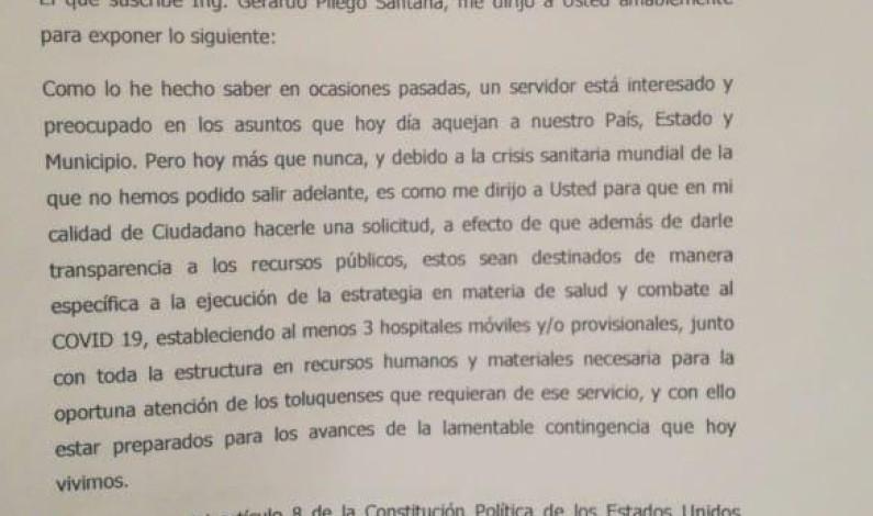 Exigen transparencia en reasignación del presupuesto de Toluca