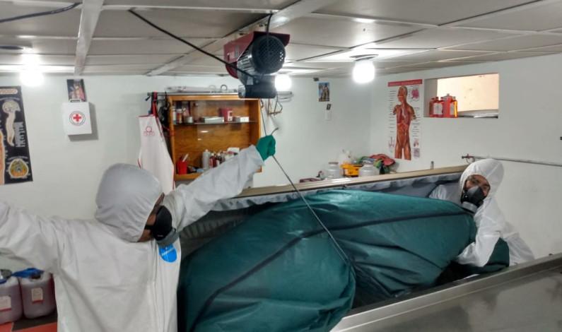 Preparan Centro de Resguardo para cadáveres por COVID-19