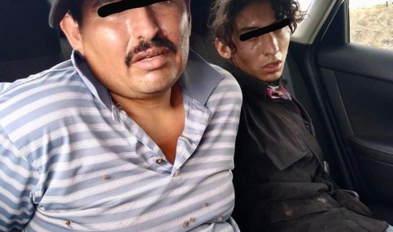 Aseguran a tres en Metepec por robo con violencia de vehículo