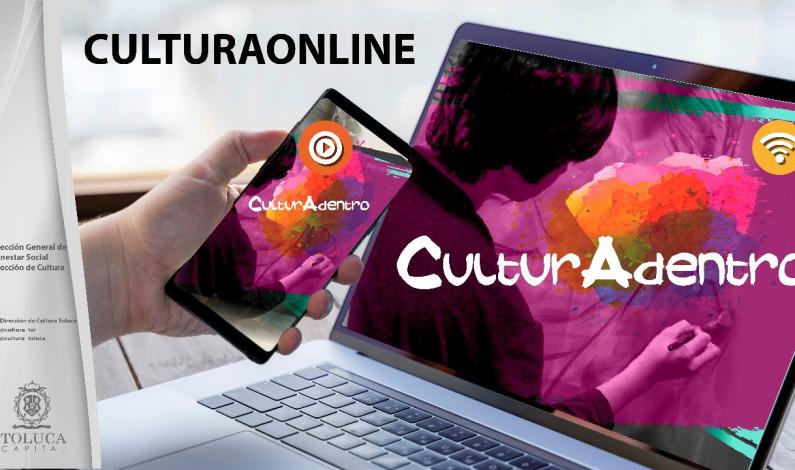 Promueve Toluca cultura con oferta online