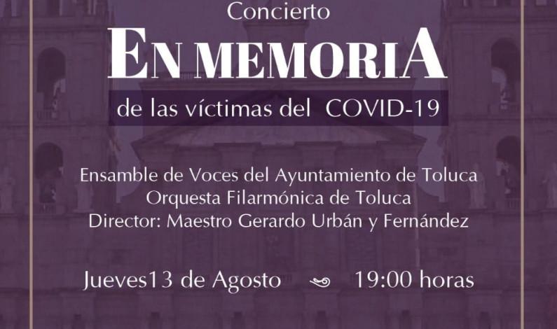 Rinde OFiT homenaje musical a víctimas de COVID-19