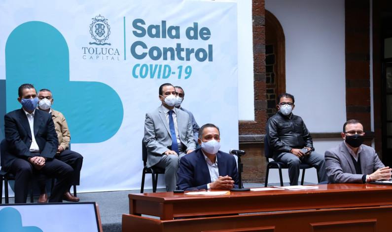 Cobró COVID 915 vidas en Toluca