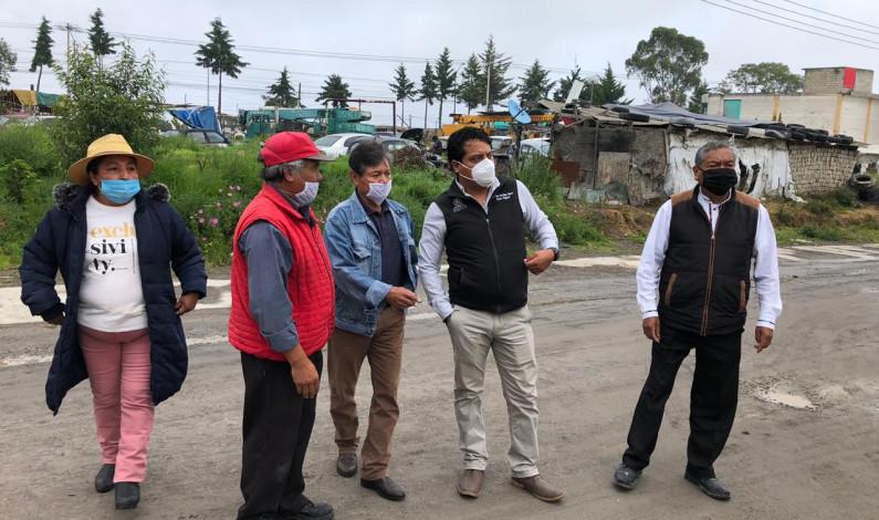 Revisan necesidades de comunidades de Toluca