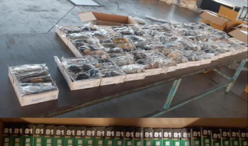 Decomisan 10 mil pruebas Covid-19 importadas ilegalmente