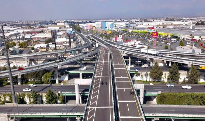 Abre distribuidor vial Las Torres-Aeropuerto
