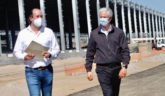 Construyen en Edomex la nave logística más grande de Latinoamérica