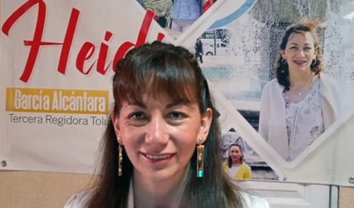 Muestra Heidi García compromiso con la transparencia