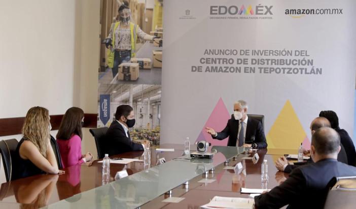 Creará Amazon mil empleos en Edomex