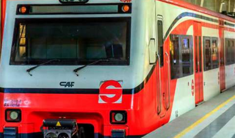 Es Tren Suburbano sistema eficiente