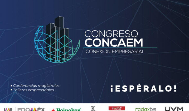 Invita Concaem a Congreso Conexión Empresarial