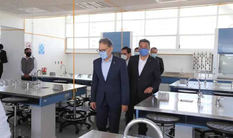 Inaugura Rector edificio de Petroquímica en UAEM