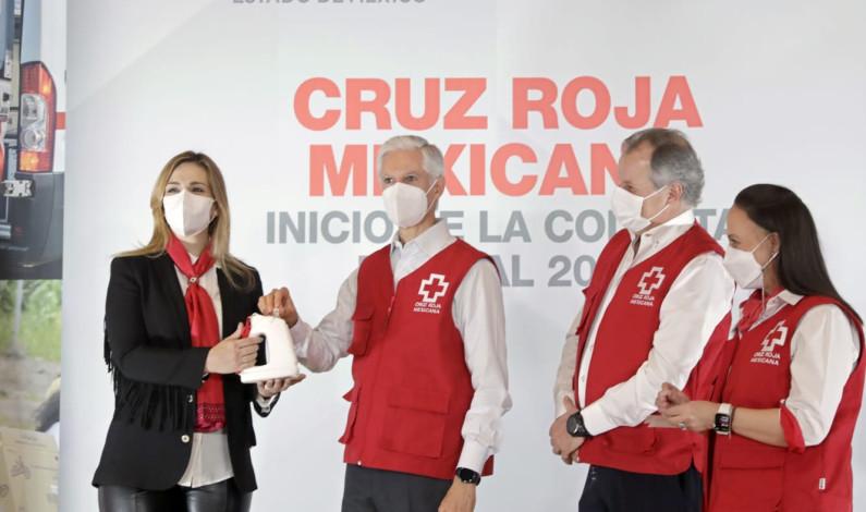 Inicia Cruz Roja Colecta Nacional en Edomex