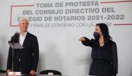 Se unen notarios públicos y autoridades a favor de mexiquenses