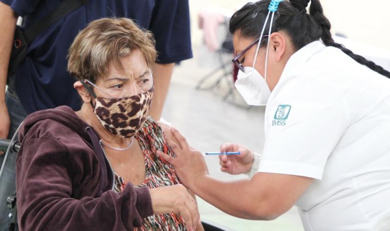 Aplicarán en Coacalco segunda dosis contra Covid