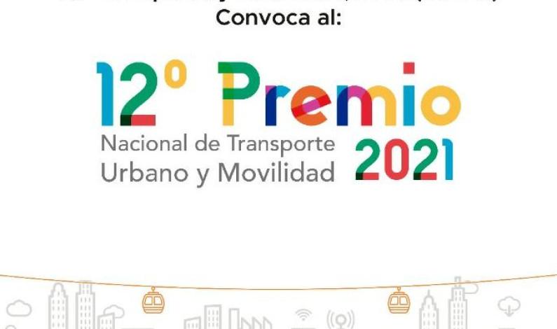 Convocan al 12 Premio Nacional de Transporte Urbano y Movilidad