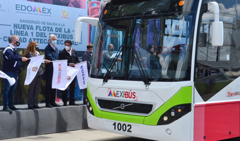 Operan nuevas unidades del Mexibús