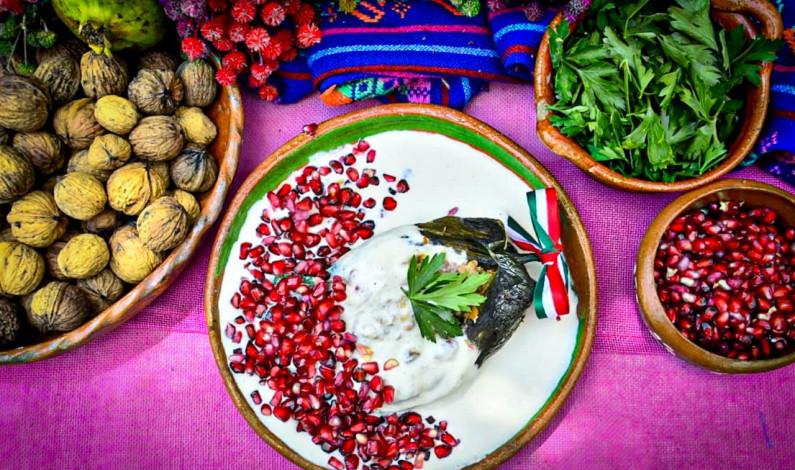 Invitan a disfrutar de los chiles en nogada