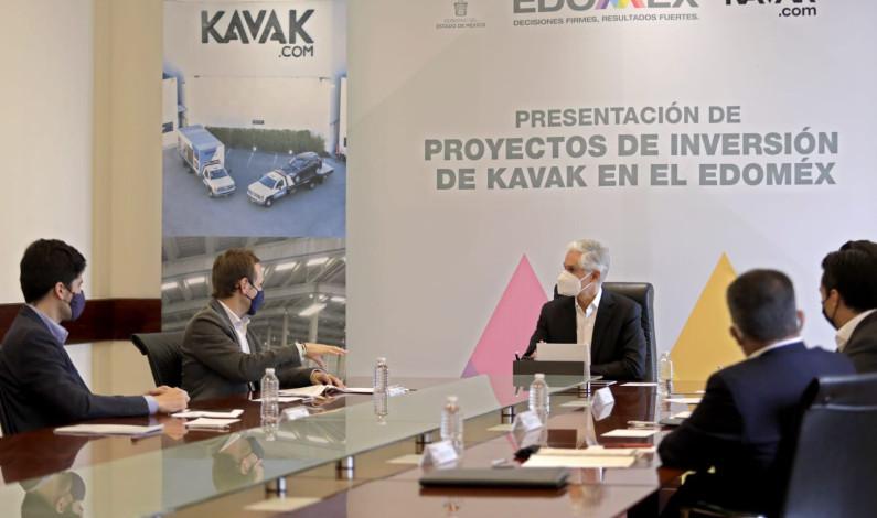 Anuncia empresa KAVAK inversión en Edomex de 2 mil millones de pesos