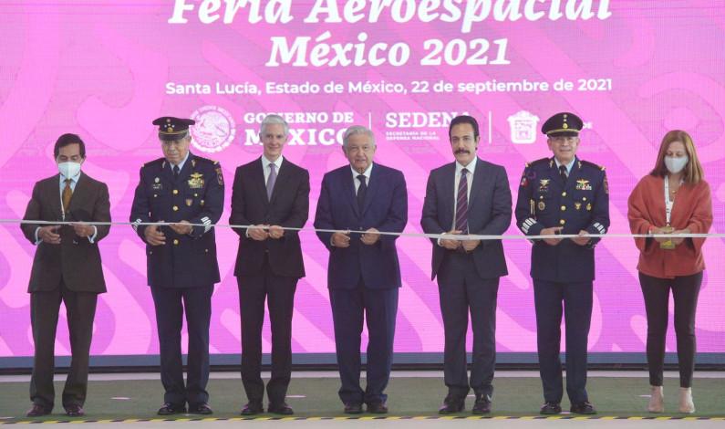 Inauguran Feria Aeroespacial en Tecámac
