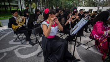 Retoma presentaciones con público la Orquesta Sinfónica Juvenil de la UAEM