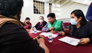 Instalan mesas de atención para afectados por derrumbe del Cerro del Chiquihuite